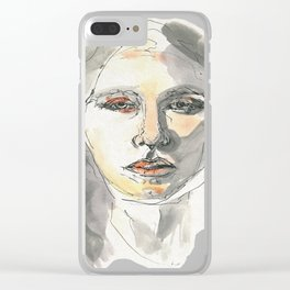 Neutrality Clear iPhone Case