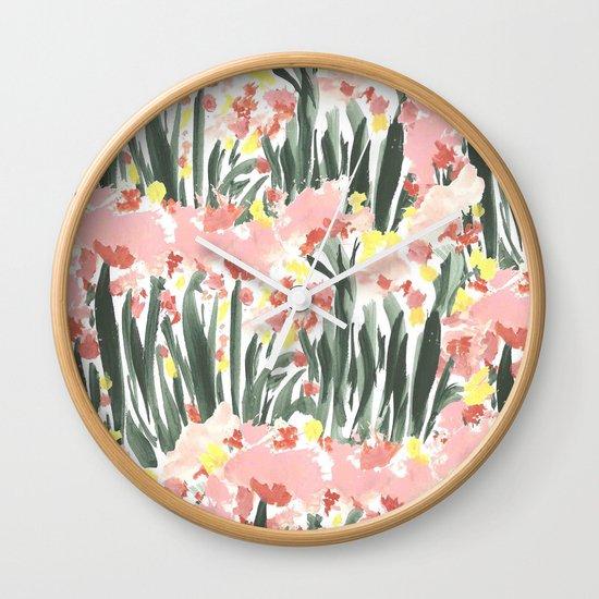 Ugly Garden Wall Clock
