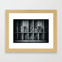 Get $*** Done Framed Art Print