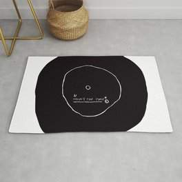 Now' s The Time Basquiat Rug