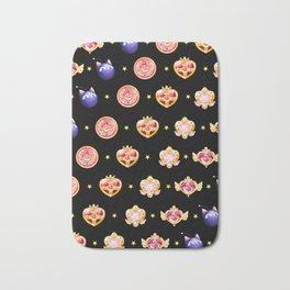 Sailor moon Badges Bath Mat