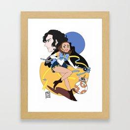 Sailor Jakku Framed Art Print