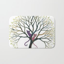 Maryland Whimsical Cats in Tree Bath Mat