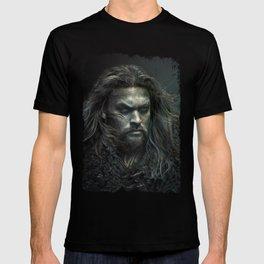 New Aquaman - Jason Momoa portrait T-shirt