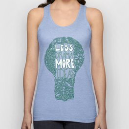 Less Drama More Ideas Unisex Tank Top