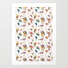 The Circus is coming to town! Art Print