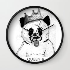 Queen B Wall Clock