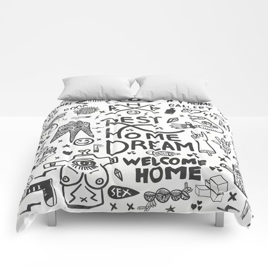REST HOME DREAM Comforters