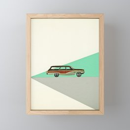 Drive Framed Mini Art Print