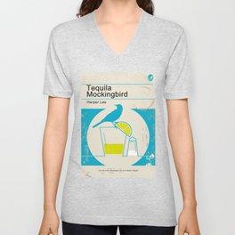 Tequila Mockingbird (Blue Ed) Unisex V-Neck