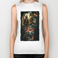 silent hill Biker Tanks featuring Silent Hill 2 - Atonement  by Tatiana Anor