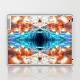 Kaleidoscope psychedelic pattern Laptop & iPad Skin