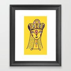 Mustard Queen Framed Art Print