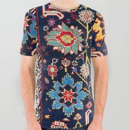 Shirvan Caucasian Afshan Rug All Over Graphic Tee