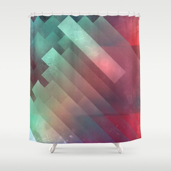glyxx cyxxkyde Shower Curtain