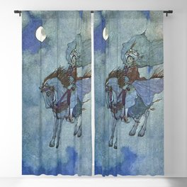 """The Magic Horse"" by Edmund Dulac Blackout Curtain"