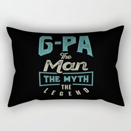 G-Pa The Myth The Legend Rectangular Pillow