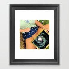 Wormhole Framed Art Print