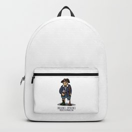 Old Pirate - Influence, Experience, Professionalism. The Dream Of A Personnel Department Backpack