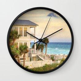 Beach House Wall Clock