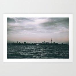 6ix Views Art Print