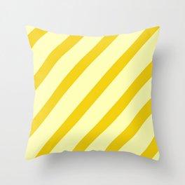 Sunny Stripes Throw Pillow
