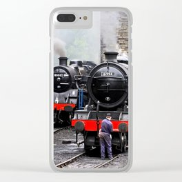 Stoking Up Clear iPhone Case