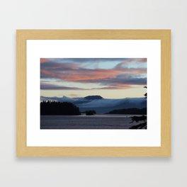 SITKA AT DUSK Framed Art Print
