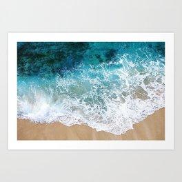 Ocean Waves I Art Print