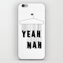 Yeah Nah Wireframe iPhone Skin