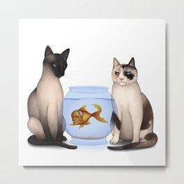 Albertfish Metal Print