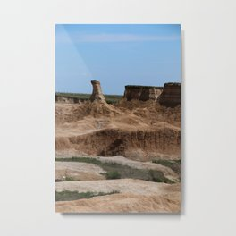 Badlands Rockformation Metal Print