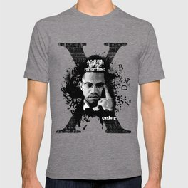 Malcolm X Stand Tall T-shirt