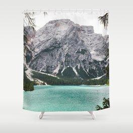 Glacial Heaven Shower Curtain