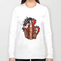 mulan Long Sleeve T-shirts featuring Mulan by artwaste