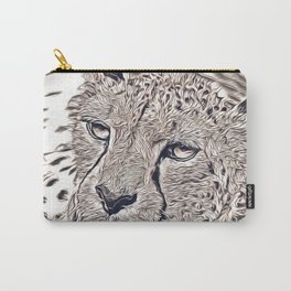 Rustic Style - Cheetah Carry-All Pouch