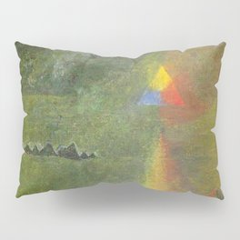 Les Origines, Rainbow and Pyramids landscape by Paul Serusier Pillow Sham
