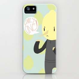 ONLY ONE LEMONGRAB iPhone Case