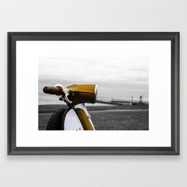 Golden Italian Framed Art Print