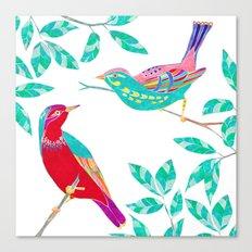 Songbirds 1 Canvas Print