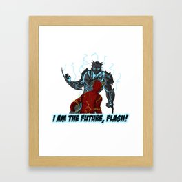 I am the Future, Flash! Framed Art Print