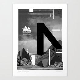 Peak Noise 1 Art Print