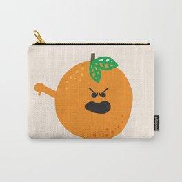 Vulgar Fruit // Obscene Orange Carry-All Pouch