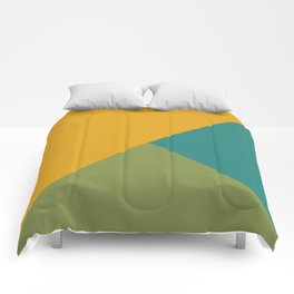 Mixed Colors Comforters
