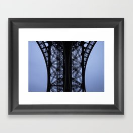 Eiffel Tower - Detail Framed Art Print