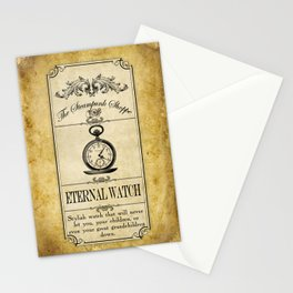 Steampunk Apothecary Shoppe - Watch Stationery Cards