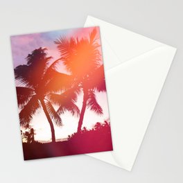 Aloha palms Stationery Cards