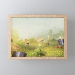 Plumber Summer Framed Mini Art Print