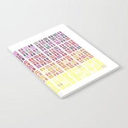 Pencil Mosaic #1 Notebook