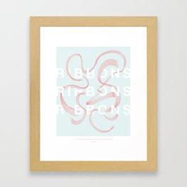 Ribbons Ribbons Ribbons Framed Art Print